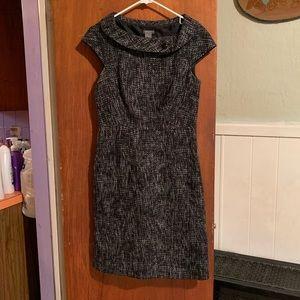 Ann Taylor tweed dress sz 2